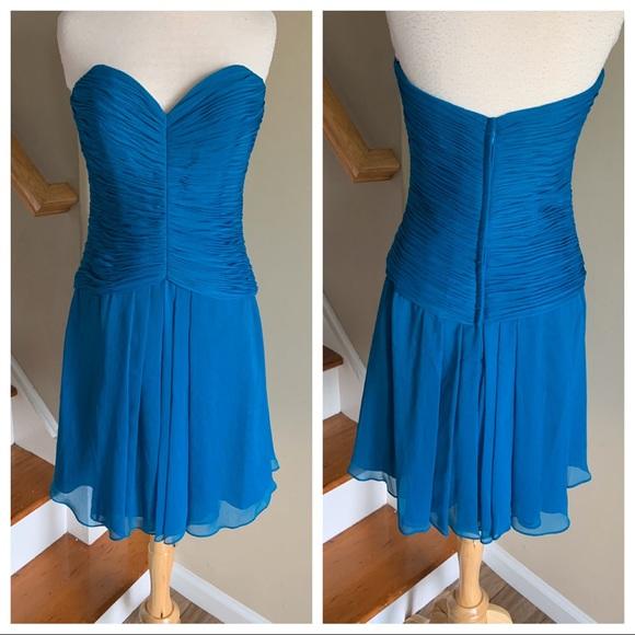 Mori Lee Dresses & Skirts - Mori Lee 204330 peacock size 12